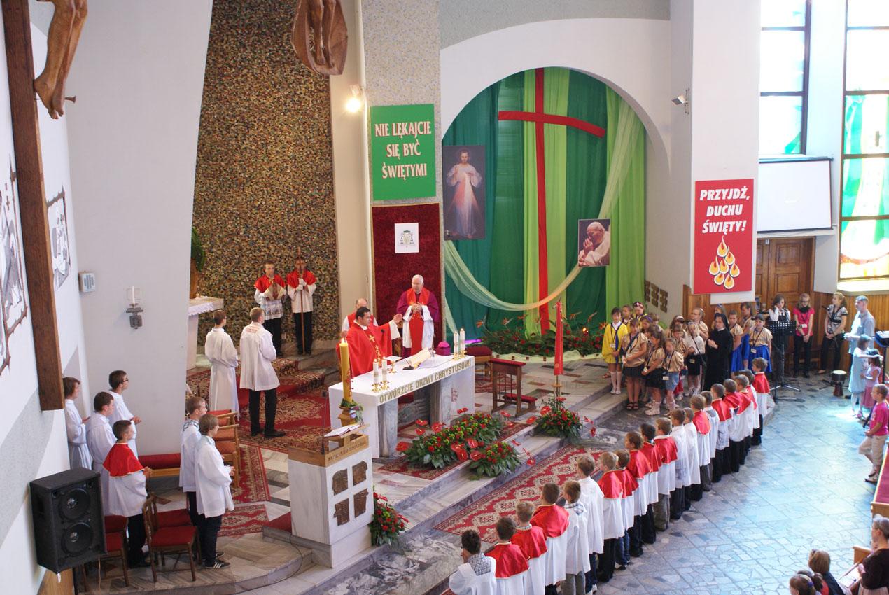 Udzielenie Sakramentu Bierzmowania (13.08.2011)