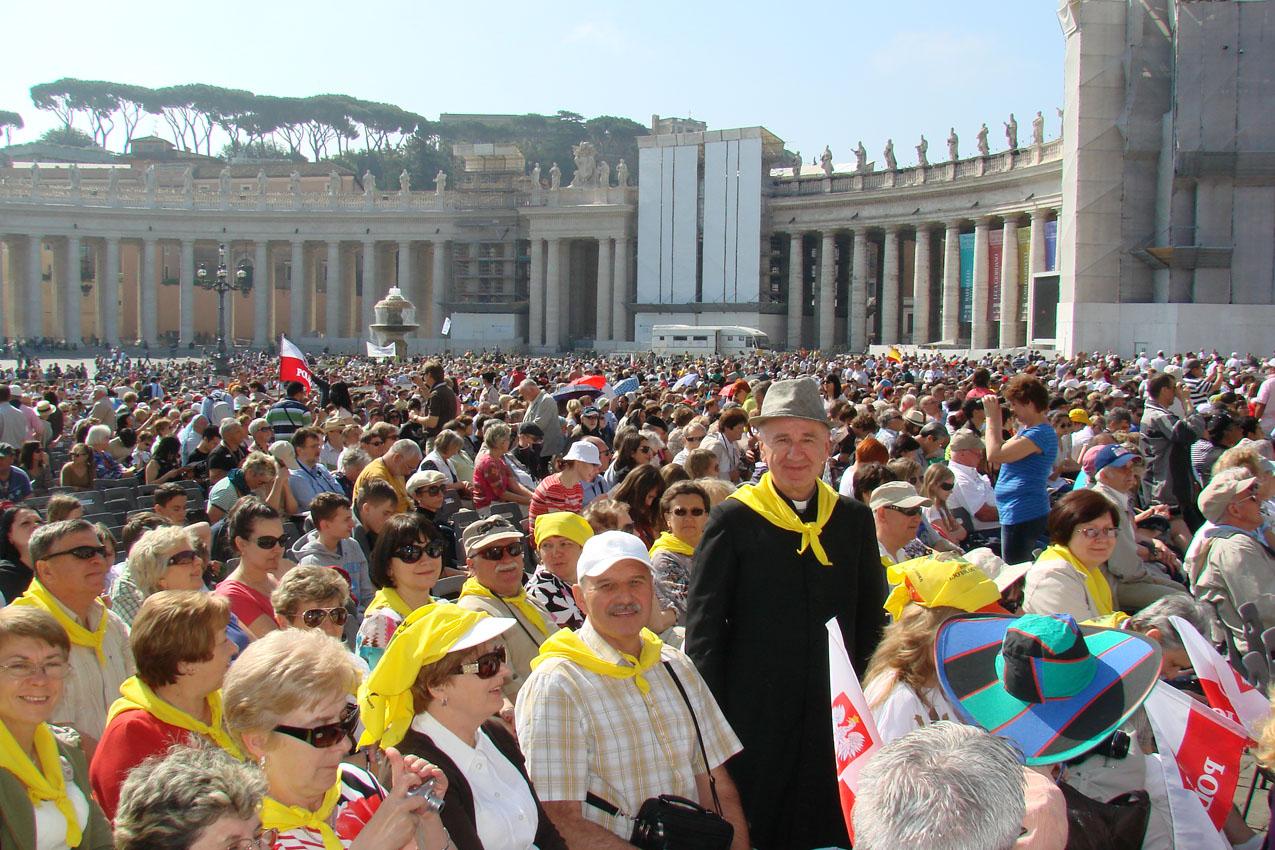Pielgrzymka Duszpasterstwa Świata Pracy do Rzymu (2012)